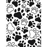 Darice 1218-03 Paw Print Design Embossing Folder, 4.25 by 5.75-Inch...