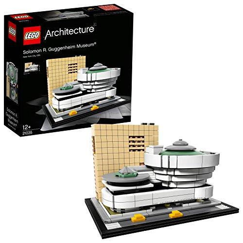 Lego Architecture-21035 Juego de construcción Museo Solomon R. Guggenheim (21035)