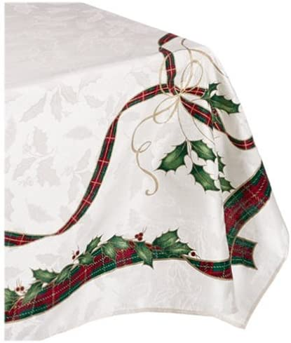 Lenox Holiday Nouveau 52 by 70 Inch Tablecloth product image