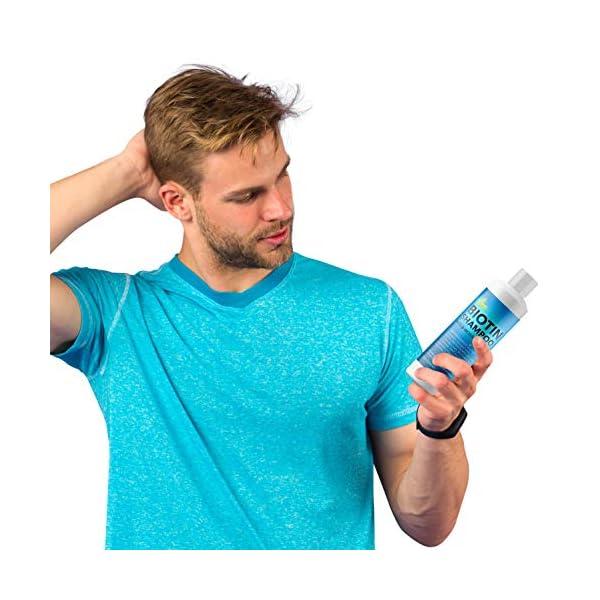 Beauty Shopping Biotin Hair Shampoo for Dry Hair – Volumizing Biotin Shampoo for Men and Womens