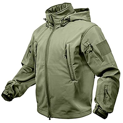 Rothco Special Ops Tactical Soft Shell Jacket, Olive Drab, L