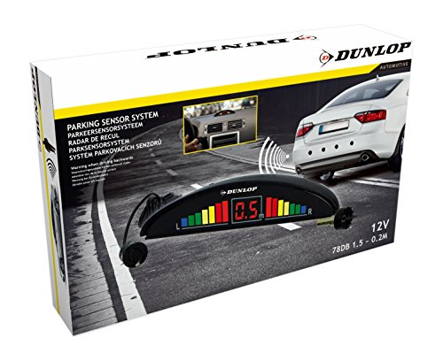 DUNLOP 871125203240 Parksensorsystem, Schwarz