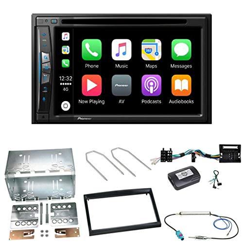 Pioneer AVIC-Z610BT - Sistema de navegación para Coche (USB, CD, DVD, Bluetooth, MP3, WMA, 2 DIN, para Peugeot 207 307 Partner Expert)