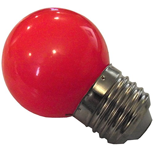 Rite Farm Products LED RED 1 WATT BROODER Light Attraction Bulb for Baby Chicks Quail Duck