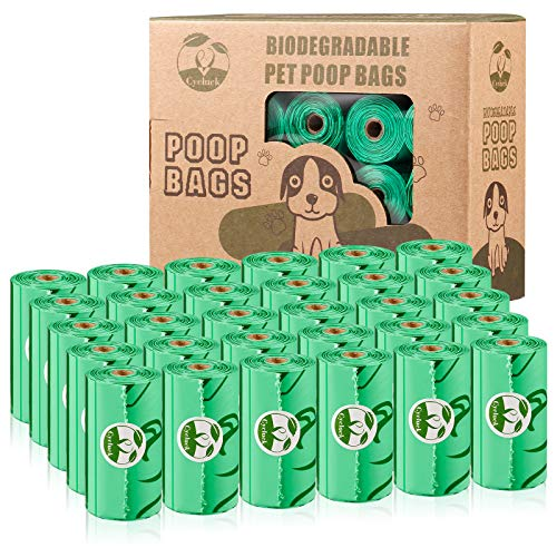Cycluck Biodegradables 450 Caca Perro Bolsas Extra Gruesa Pr