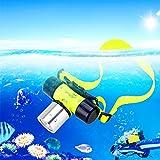 3W Headlight Lampe Frontale LED Phares à LED étanche 1000Lumens Lumière Forte Lampe Puissante Headtorch pour Plongée Sous-Marine(Comprennent pas Batterie)