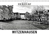 Ein Blick auf Witzenhausen (Wandkalender 2022 DIN A4 quer): Ein ungewohnter Blick in harten Schwarz-Weiss-Bildern auf Witzenhausen (Monatskalender, 14 Seiten )