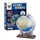 TKFY Tridimensional 3D Jigsaw Puzzle Globo de Papel Planeta decoración de niños de educación a Mano Bricolaje Juguetes creativos Ilustraciones para Adultos y niños,Globe