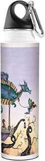 18-Ounce Tree-Free Greetings VB47573 Amy Brown Fantasy Artful Traveler Stainless Water Bottle Lily of The Valley Fairy Tree Free