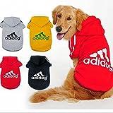 Ropa para perro Adidog, abrigos, sudaderas, camisetas, para mascotas...