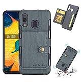 Étui pour Huawei Nova3, motif Wiredrawing Combined Armure Slim Wallet Cover Fente pour carte...