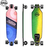 Teamgee H8 31' Electric Skateboard with Remote Long Boards Skateboard Designed for Teens and Girls, 18PMH Top Speed, Hub Motors 480W, 15KM Range, 2 Speed Modes