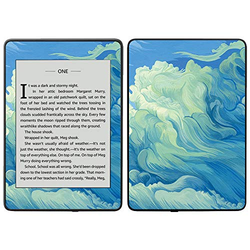 MightySkins Skin Compatible with Amazon Kindle Paperwhite 2018 (Waterproof Model) - Visionary | Protective, Durable, and Unique Vinyl Decal wrap Cover | Easy to Apply, Remove| Made in The USA