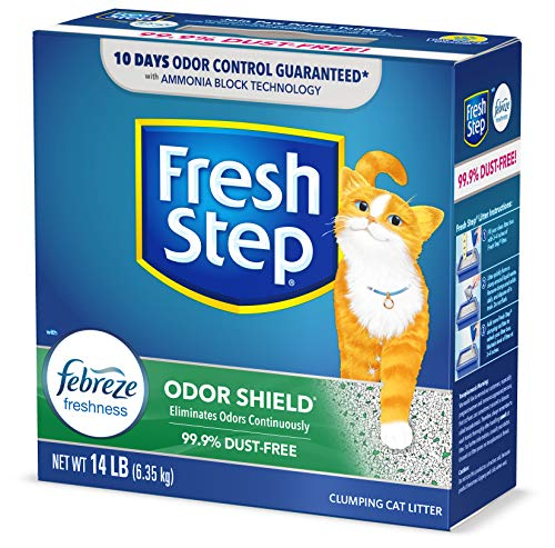 Fresh Step Odor Shield Scented Litter with The...