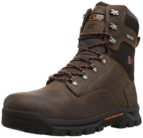 Danner Men's Crafter 8' 600G NMT Work Boot, Brown, 10.5 D US