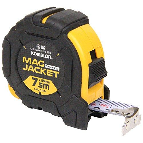 コメロン コンベックス マグジャケット 25 テープ幅25mm 7.5M KMC-31RM