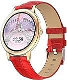 Smart Watch Orologio da donna con ossigeno nel sangue, pressione arteriosa, frequenza cardiaca, monitoraggio delle attività fisiche, monitoraggio delle calorie, impermeabile IP68, orologio sportivo