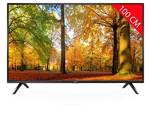 Thomson 40FD3346 100cm LED Fernseher Full HD 40 Zoll LED TV - Terrestrischer DVB-T / Satelliten-Tuner - Kopfhöreranschluss - Sound 2 x 8W