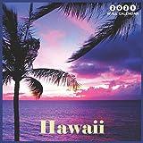"Hawaii 2021 Wall Calendar: Beautiful Hawaii Landscapes Wall Calendar 8.5"" x 8.5"" glossy finish"