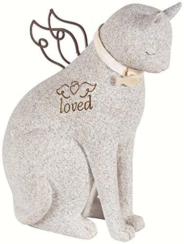 """Faithful Angel"" by Robin Davis Cat Figurine"