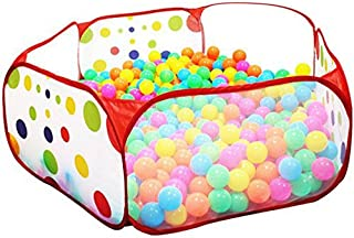ISusser Kids Ball Pit Ball Tent Ball Pit for Pets 4 Ft/120CM (Balls not Included)