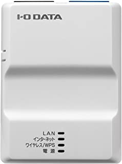 アイ・オー・データ機器 2.4GHz(IEEE802.11n/g/b)対応 無線LANポケットルーター ホワイト WN-G300TRW