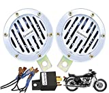 Vehicle Compatibility: All Bikes and Scooters (Geared/Non-Geared) of any model Loud sound horn with strong voice for safety warning Adopt membrane filter technology with waterproof and propulsive gas Anti-corrosion, water proof and suitable for all w...