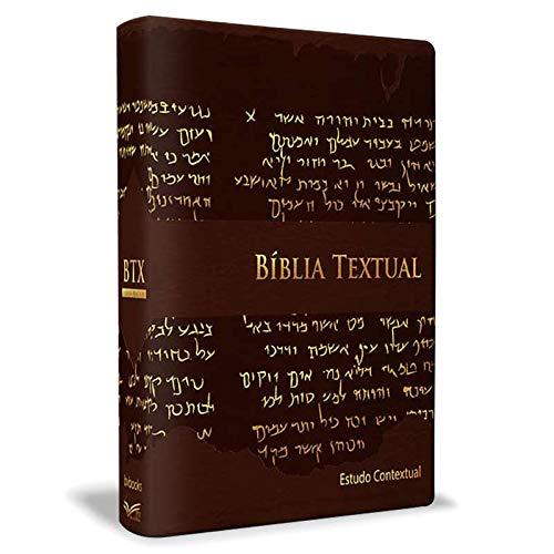 Bíblia Textual Estudo Contextual - Marrom
