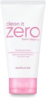 BANILA CO NEW Clean It Zero Foam Cleanser 150ml, all skin types, creamy foam cleanser with natural herbs