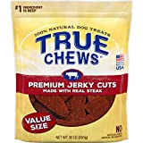 True Chews Natural Dog Treats Premium Jerky Cuts Made with Real Steak