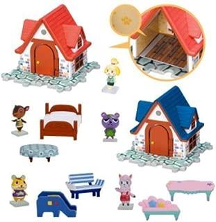 Nintendo Animal Crossing House & Furniture Figure Play Set of 5