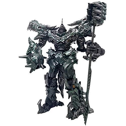 UALLL Juguetes de Autobots, Black Mamba LS05 Tyrannosaurus Steel Cuerda Deformation Juguete King Kong Antiguo Lords Antiguo Versión ampliada Modelo de Autobot deformado
