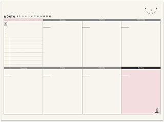 Meetory A4 Weekly Planner Desktop Pad Jobs List7 Days of The Week