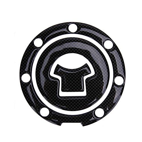 UEB Adesivo per Serbatoio Moto Adesivo per Tappi Serbatoio Carburante Benzina Proteggi Serbatoio per Suzuki Honda Yamaha Kawasaki