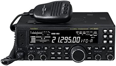 Yaesu Original FT-450D HF/50MHz Compact Amateur Base Transceiver - 100 Watts, IF DSP Technology