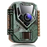 K&F Concept Caméra de Chasse 16MP 1080P Caméra de Faune Surveillance Vision Nocturne Vitesse de Déclenchement 0.4s Étanchéité IP65 pour Observation d'animaux Sauvages et Sécurité du Domicile