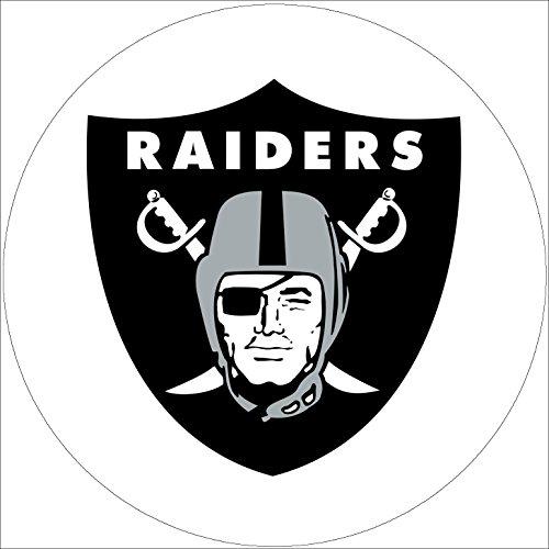 Fondant Tortenaufleger Tortenbild Geburtstag NFL Oakland Raiders T1