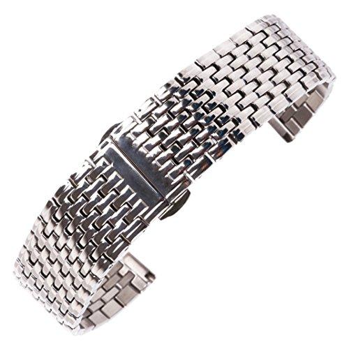 22 millimetri argento superiore cinturino vigilanza del wristband...