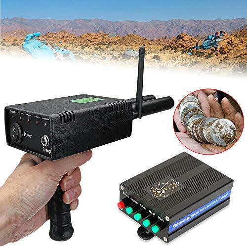 12V Handheld Antenne Metalldetektor, Metallsuchgerät Suchgerät + Netzteil, Gold Metal Detector, Erkennungstiefe 20M/ Suchbereich 1000M
