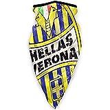 Hell-As Ver-Ona Big Logo Equipo de Fútbol Cálido Cuello Bufanda Turbante Headgear Cara Toalla Cuello Protección a prueba de viento Sombrero Pasamontañas a prueba de polvo
