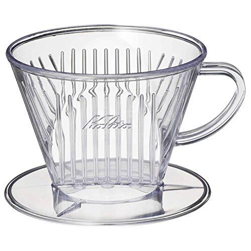 カリタ Kalita コーヒー ドリッパー プラスチック製 2~4人用102FT #05023
