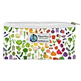 Planet Wise Reusable Zipper Sandwich and Snack Bags, Snack, Farmers Market