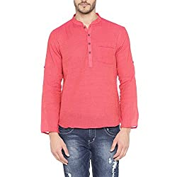 Indus Route by Pantaloons Mens Cotton Kurtas