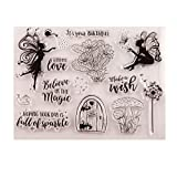 Wishes Rubber Stamps