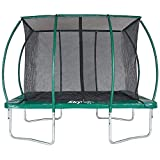 Skyhigh 7ft x 10ft Rectangular Trampoline with Enclosure. Superior and Expressive Bounce which doesn't pull user in centre of mat