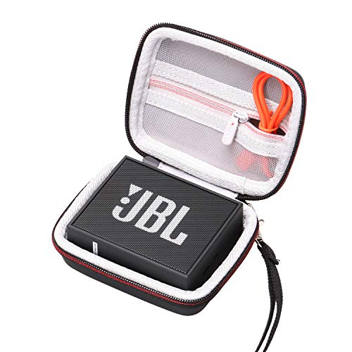 LTGEM EVA Hard Case for JBL GO & JBL GO 2 Portable Wireless Bluetooth Speaker - Travel Protective Carrying Storage Bag