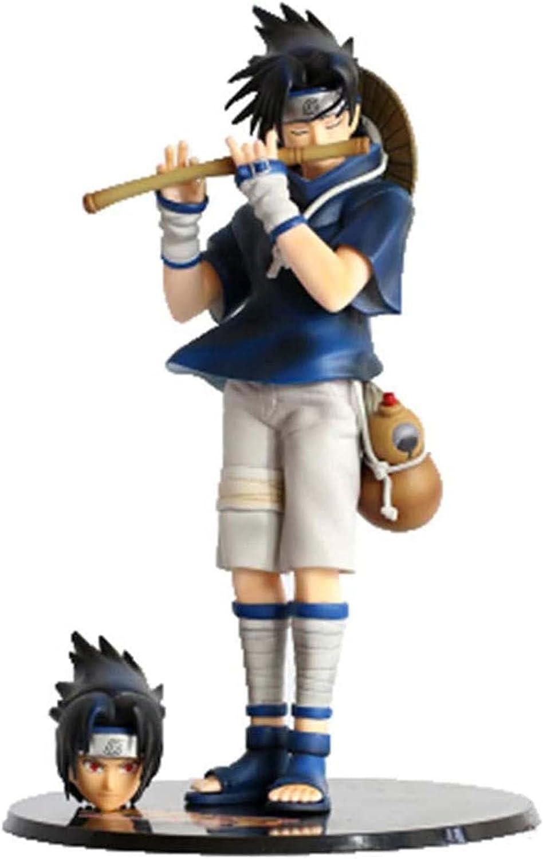 ORNAAA Selling Naruto Shippuden Classic : Uchiha Doll Sasuke Model Figure Flute