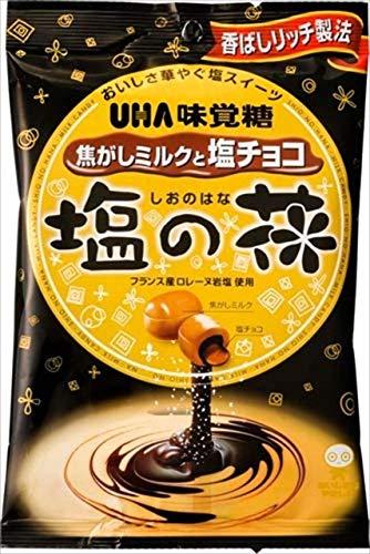 味覚糖 塩の花 焦がしミルクと塩チョコ 85G × 3袋