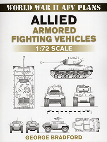 Allied Armored Fighting Vehicles: 1:72 Scale (World War II AFV Plans)