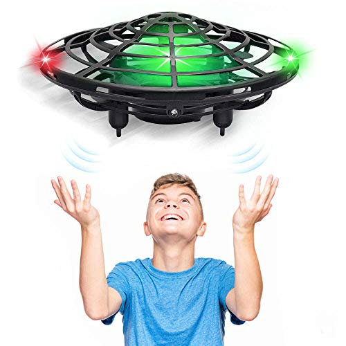 CPSYUB Hand Operated Drones for Kids or Adults, Kids Mini Drone Toys for Age 4, 5, 6, 7, 8, 9 10 Year Old Boys, Easy Indoor Small UFO Flying Ball Drone Toys for Boys and Girls